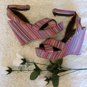 3/45.00  malty colored wedges